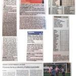 Rassegna Stampa 9 Novembre 2015 - AC Fiorano