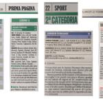 Rassegna Stampa 22 Febbraio 2016 - Junior Fiorano